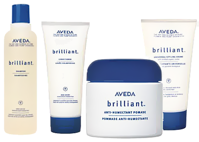 Aveda brilliant™ @ IINN Sustainable Beauty