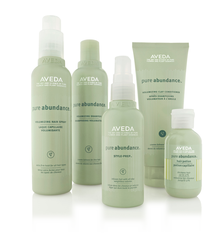 Aveda pure abundance™ @ IINN Sustainable Beauty