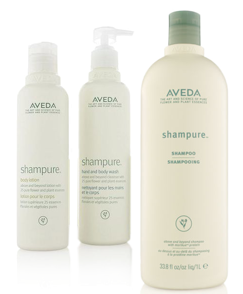 Aveda shampure™ @ IINN Sustainable Beauty