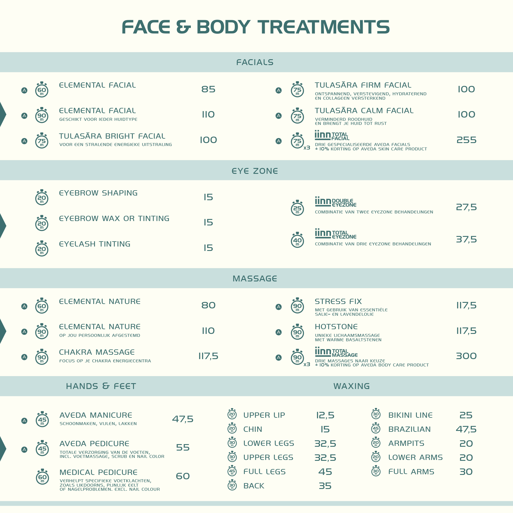 iinn - sustainable beauty - face & body treatments
