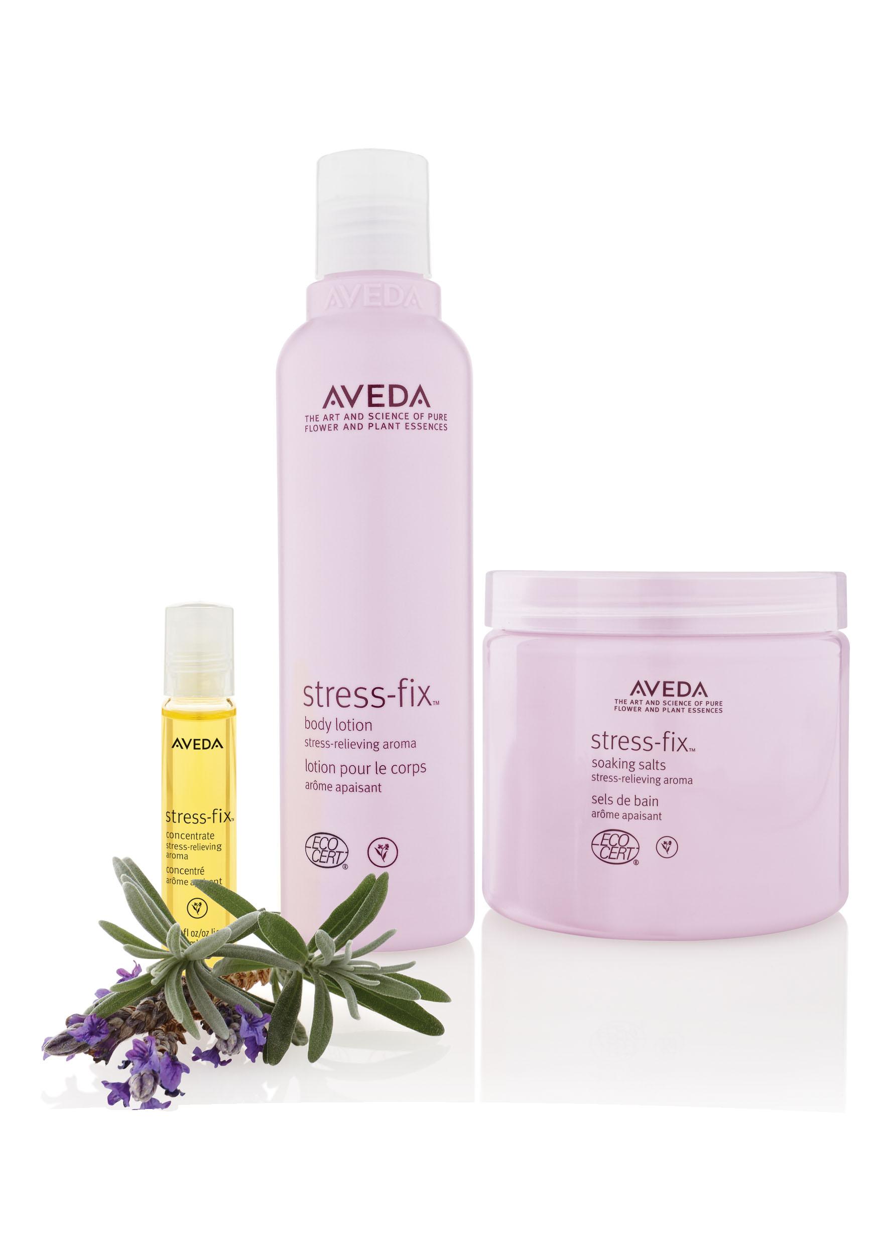 Aveda stress-fix™ @ IINN Sustainable Beauty