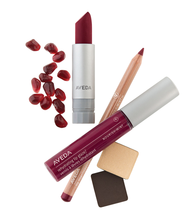 Aveda make-up @ IINN Sustainable Beauty
