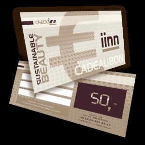 iinn — sustainable beauty cadeaucheque t.w.v. € 50.-